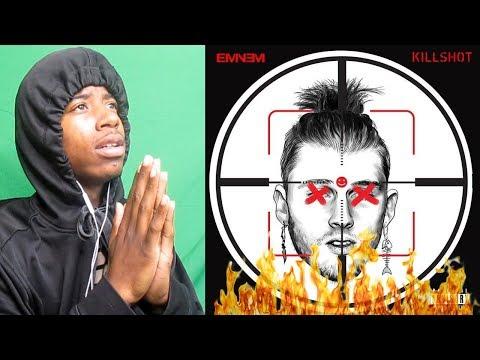 EMINEM -  KILLSHOT [Official Audio] (MACHINE GUN KELLY DISS) REACTION