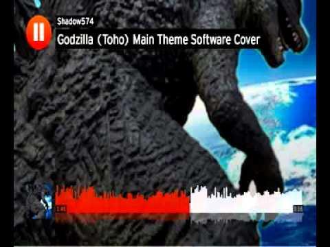 Godzilla Toho Main Theme Software Cover
