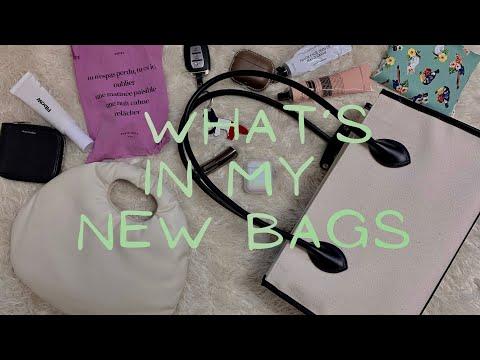 새로 산 가방과 애정하는 일상템들 소개 👜✨ | What's in my new bags | LOW CLASSIC, FUNFROMFUN видео