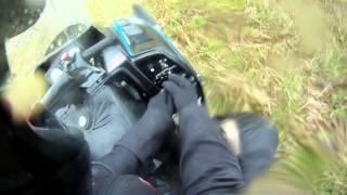 6. 2012 Muhos grass drag race Polaris Indy 500 vs Arctic cat F5