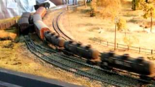 Galong Australia  City new picture : Galong - HO Scale NSWGR 421 Class loco and train