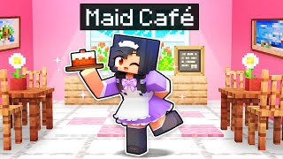 We Opened A MAID CAFE In Minecraft!