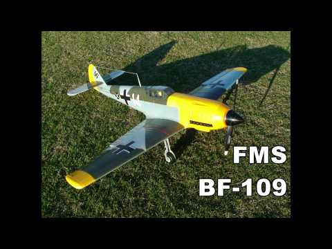 FMS BF-109 Messerschmitt Video 1