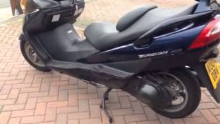 1. Suzuki burgman 400 part 1 review mark savage