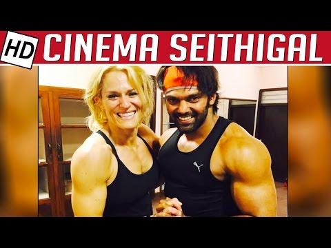 Arya-Fights-with-50-Elephants-Kadavan-Kollywood-news-Cinema-Seithigal-Kalaignar-TV
