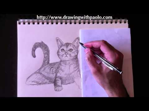 Drawing domestic animals with Paolo Morrone