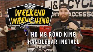 5. Handle Bar Install - 2019 Harley Davidson Road King