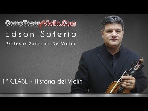 Como Tocar Violin – 1ª CLASE – Historia del Violín