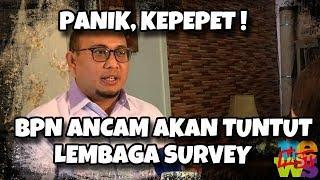 Video Panik, Kepepet! Kubu Prabowo An(c)4m Tuntut Lembaga Survei Yang Menangkan Jokowi! MP3, 3GP, MP4, WEBM, AVI, FLV Maret 2019