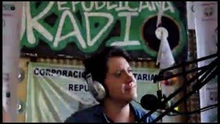 con Pablo Dázan - Fue tan Solo un Beso Versión Acústica en URepublicanaRadio