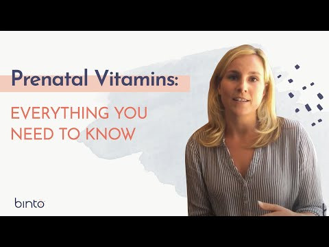 Prenatal Vitamins | Everything You Need To Know With BINTO