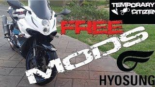 6. FREE HYOSUNG GT650R MOD