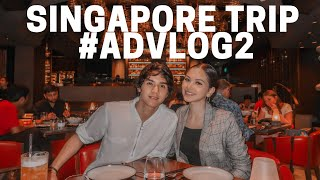 Video SINGAPORE TRIP #ADVLOG2 - Almost missed our flight!? 😱 MP3, 3GP, MP4, WEBM, AVI, FLV Februari 2019