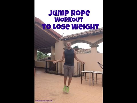 Jumping Rope Workout to Lose Weight
