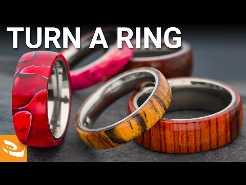 Turning a Comfort Ring Core | Woodturning Project