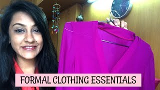 In this video I'm talking about all my formal clothing essentials. I hope you guys enjoy this video :) SCROLL DOWN FOR...