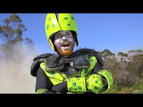 The Cell Saga In 5 Minutes (Dragonball Z Live Action) (Sweded) - Mega64