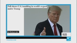 Poll - Trump presidency takes toll on US image abroad