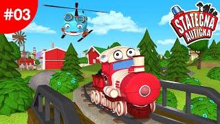 Statečná Autíčka - Velké Vlakové Dobrodružství