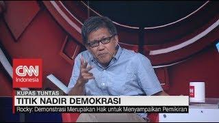 Keras! Rocky Gerung Kritik Cara Jokowi Tangani Demonstrasi #KupasTuntas