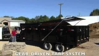 Beast Mode: Diamond C Trailers 23WFDT Dump Trailer with Superior Honda Reliability