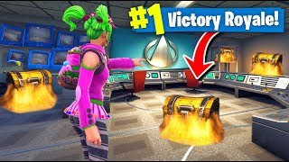 NEW *SECRET* CHEST Locations In Fortnite Battle Royale (Season 4)