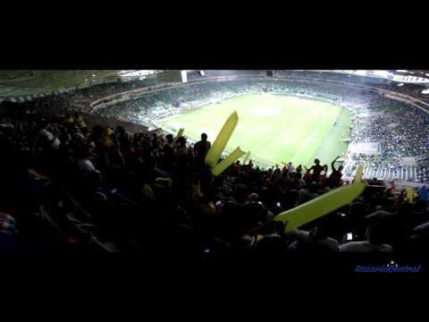 """""""De pendejo yo aprendí"""" - Rosario Central (Los Guerreros) vs Palmeiras - 2016 - Los Guerreros - Rosario Central"""