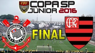 Flamengo campeão da Copinha 2016. Melhores momentos e gols de Corinthians 2 x 2 Flamengo - Pênaltis 3 x 4 - 25/01/2016  Gols Gabriel Vasconcelos, Matheus Pe...