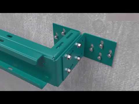Lắp đặt khung thang máy - không phòng máy
