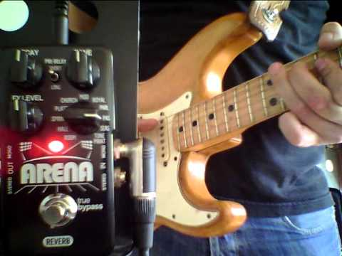 TC Electronic Arena Pedal Demo by Brian Petersen