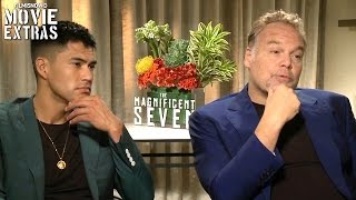 Nonton The Magnificent Seven (2016) - Vincent D'Onofrio & Martin Sensmeier talk about the movie Film Subtitle Indonesia Streaming Movie Download
