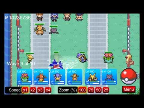 Pokemon Tower Defense Walkthrough Part 23 - Zapdos the BEAST!