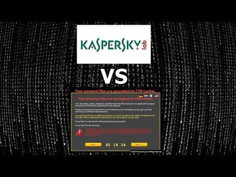 Kaspersky vs PolyRansom {A-V Test #12}