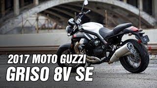 9. 2017 Moto Guzzi Griso 8V SE