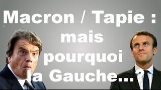 Video Macron / Tapie : pourquoi la Gauche crée-t-elle... ? (LaChroPol #4.1) MP3, 3GP, MP4, WEBM, AVI, FLV Juni 2017