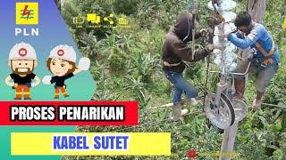 Video cara penarikan kabel SUTET stringing listrik indonesia MP3, 3GP, MP4, WEBM, AVI, FLV September 2018