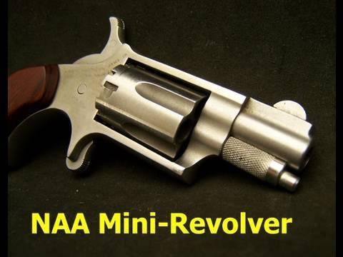 NAA Mini Revolver 22LR  Deep Cover Gun