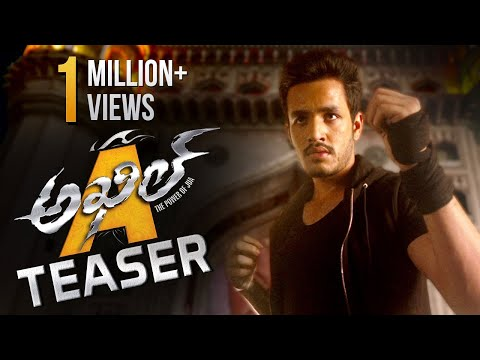 Actor Akhil's Missile Movie Teaser HD Video