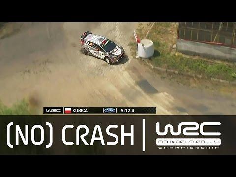 Vídeo a tres ruedas Robert Kubica SS19 WRC Rallye de Polonia 2015
