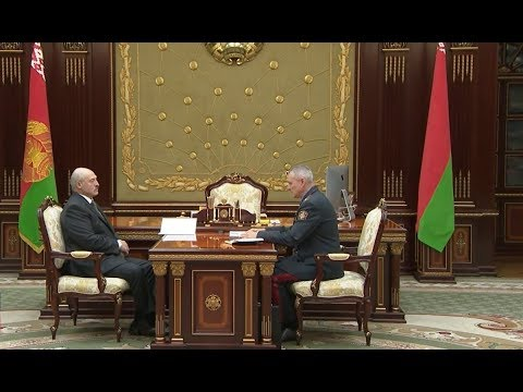 Александр Лукашенко встретился с главой МВД Игорем Шуневичем