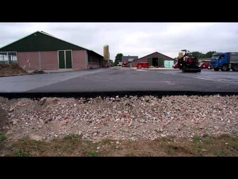 Asfaltbouw  Erfverharding