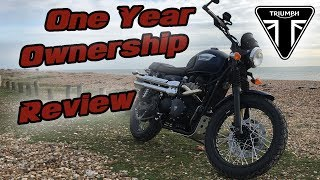 9. Triumph Scrambler: One Year Ownership Review