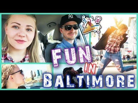 BRUDER ZU BESUCH - Photoshooting Fun in Baltimore!