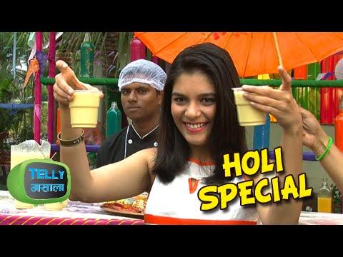 Pooja Gor Celebrates Holi | Life Ok Holi