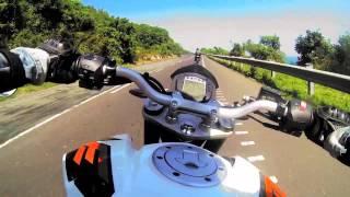 Johnny Tri Nguyen đi Phượt Bằng Ducati 390 Khủng