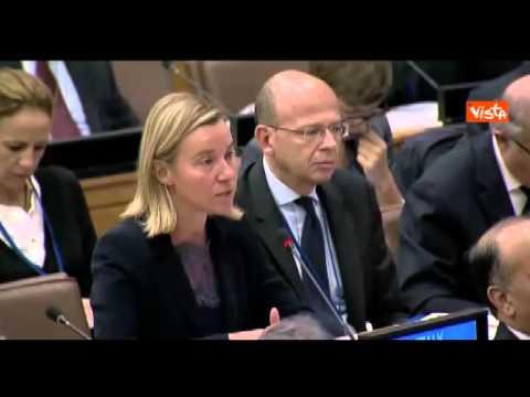 New York Mogherini da Italia pieno sostegno a missione ONU in Libia (Agenzia Vista)