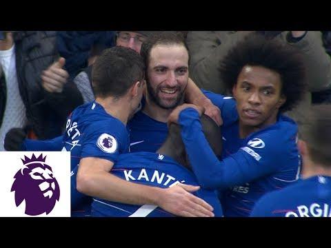Video: Gonzalo Higuaín first goal since joining Chelsea v. Huddersfield | Premier League | NBC Sports