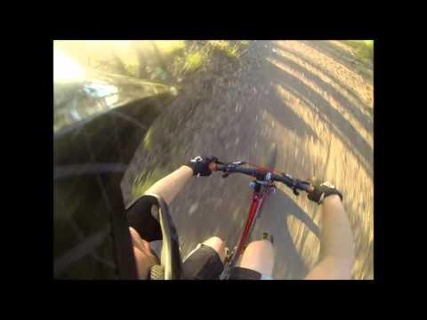 Downhill Crash! Clear Mountan GoPro HD Hero 3 (видео)