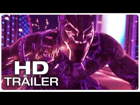 BLACK PANTHER  Car Chase Fight Scene Movie Clip + Trailer (2018) Marvel Superhero Movie HD
