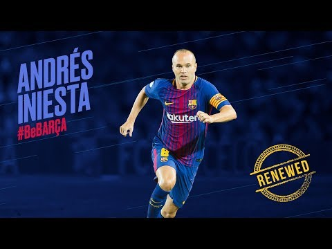 Andrés Iniesta Signs Lifetime Contract With FC Barcelona